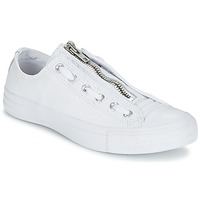 Παπούτσια Άνδρας Χαμηλά Sneakers Converse CHUCK TAYLOR ALL STAR MA-1 ZIP MILITARY LEATHER OX άσπρο
