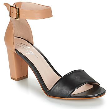 Παπούτσια Γυναίκα Σανδάλια / Πέδιλα Betty London CRETA Nude / Black