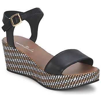 Παπούτσια Γυναίκα Σανδάλια / Πέδιλα Betty London PRETA Black