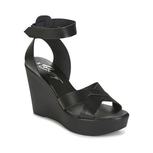 Παπούτσια Γυναίκα Σανδάλια / Πέδιλα Betty London EXIBOLE Black
