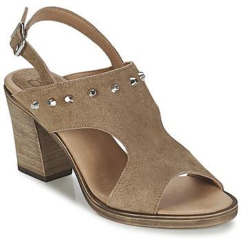 Παπούτσια Γυναίκα Σανδάλια / Πέδιλα Betty London EGALIME Taupe