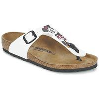 Παπούτσια Παιδί Σαγιονάρες Birkenstock GIZEH Άσπρο / Red