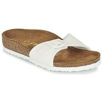 Παπούτσια Κορίτσι Τσόκαρα Birkenstock MADRID άσπρο / Pailleté