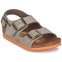 Παπούτσια Αγόρι Σανδάλια / Πέδιλα Birkenstock MILANO Taupe