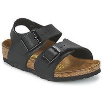 Παπούτσια Αγόρι Σανδάλια / Πέδιλα Birkenstock NEW YORK Black