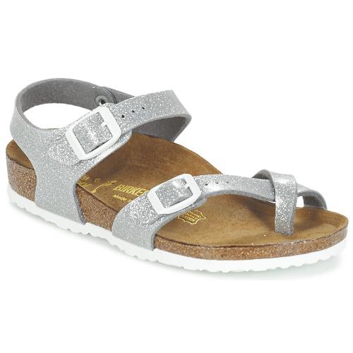 Παπούτσια Κορίτσι Σανδάλια / Πέδιλα Birkenstock TAORMINA Argenté