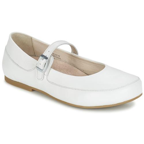 Παπούτσια Γυναίκα Μπαλαρίνες Birkenstock LISMORE άσπρο