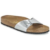 Παπούτσια Γυναίκα Τσόκαρα Birkenstock MADRID Silver