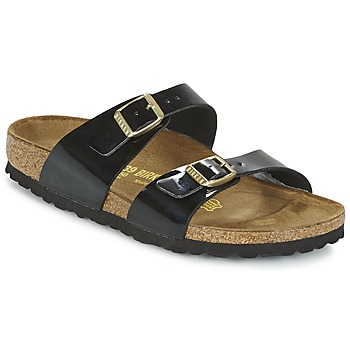 Παπούτσια Γυναίκα Τσόκαρα Birkenstock SYDNEY Black / Vernis