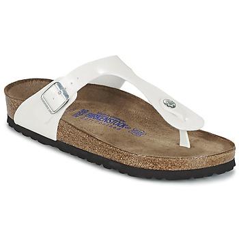 Παπούτσια Γυναίκα Σαγιονάρες Birkenstock GIZEH Άσπρο