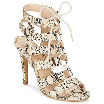 Παπούτσια Γυναίκα Σανδάλια / Πέδιλα Ravel OMAK Beige / Python