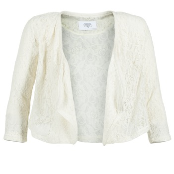 Υφασμάτινα Γυναίκα Σακάκι / Blazers Le Temps des Cerises ILONA άσπρο