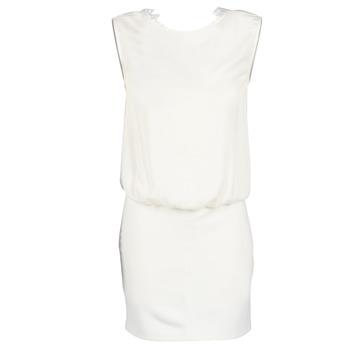 Υφασμάτινα Γυναίκα Κοντά Φορέματα Le Temps des Cerises SHEILA άσπρο