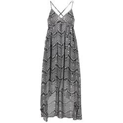 Υφασμάτινα Γυναίκα Μακριά Φορέματα Le Temps des Cerises LUNE Black / άσπρο
