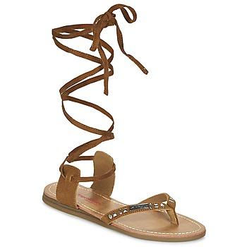 Παπούτσια Γυναίκα Σανδάλια / Πέδιλα Les Tropéziennes par M Belarbi GALTANO CAMEL