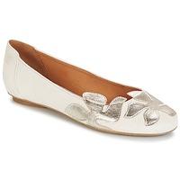 Παπούτσια Γυναίκα Μπαλαρίνες Betty London ERUNE Άσπρο / Argenté