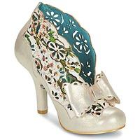 Παπούτσια Γυναίκα Χαμηλές Μπότες Irregular Choice SASSLE Irisé / Beige / Floral