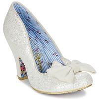 Παπούτσια Γυναίκα Γόβες Irregular Choice NICK OF TIME άσπρο / Pailleté
