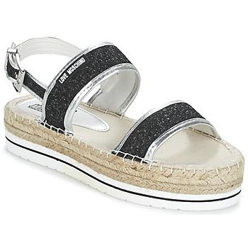 Παπούτσια Γυναίκα Σανδάλια / Πέδιλα Love Moschino SIMONA Black