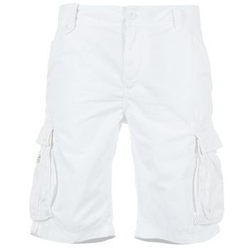 Υφασμάτινα Άνδρας Σόρτς / Βερμούδες Kaporal KORGE άσπρο