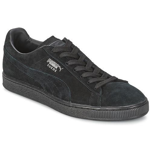 Παπούτσια Χαμηλά Sneakers Puma SUEDE CLASSIC Black / Grey