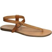 Παπούτσια Γυναίκα Σανδάλια / Πέδιλα Gianluca - L'artigiano Del Cuoio 592 U CUOIO GOMMA Cuoio