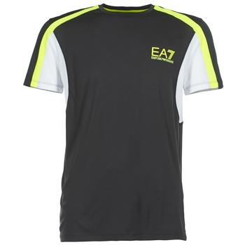 Υφασμάτινα Άνδρας T-shirt με κοντά μανίκια Emporio Armani EA7 VENTUS7 Black