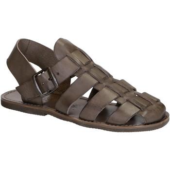 Παπούτσια Γυναίκα Σανδάλια / Πέδιλα Gianluca - L'artigiano Del Cuoio 502 U FANGO GOMMA Fango