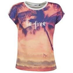 Υφασμάτινα Γυναίκα T-shirt με κοντά μανίκια Only BE FREE SUMMER Multicolore
