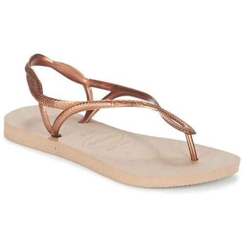 Παπούτσια Γυναίκα Σαγιονάρες Havaianas LUNA Bronze