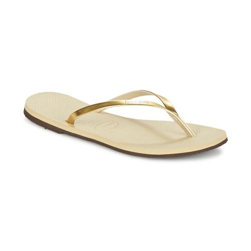 Παπούτσια Γυναίκα Σαγιονάρες Havaianas YOU METALLIC Gold