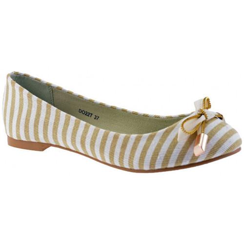 Παπούτσια Γυναίκα Μπαλαρίνες F. Milano  Beige