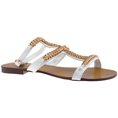 Παπούτσια Γυναίκα Σανδάλια / Πέδιλα F. Milano  Άσπρο