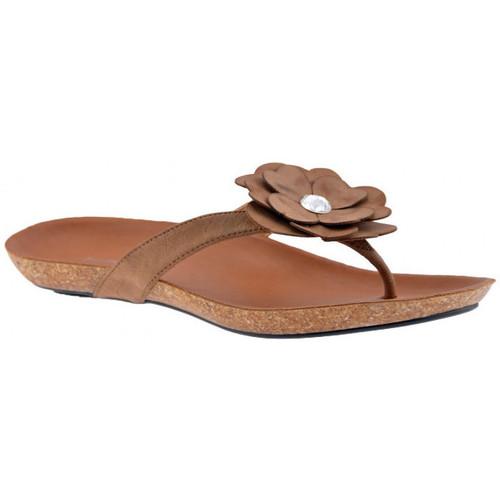 Παπούτσια Γυναίκα Σαγιονάρες F. Milano  Beige