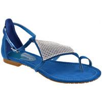 Παπούτσια Γυναίκα Σαγιονάρες F. Milano  Μπλέ