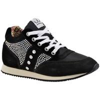 Παπούτσια Γυναίκα Ψηλά Sneakers F. Milano  Black