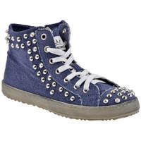 Παπούτσια Γυναίκα Ψηλά Sneakers F. Milano  Μπλέ