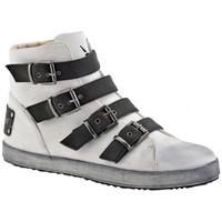 Παπούτσια Γυναίκα Ψηλά Sneakers F. Milano  Άσπρο