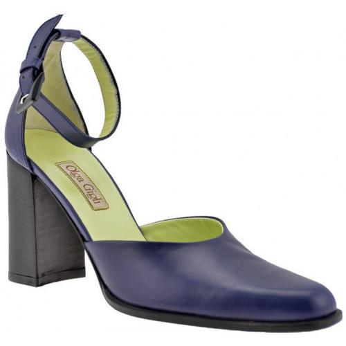 Παπούτσια Γυναίκα Σανδάλια / Πέδιλα Olga Gigli  Μπλέ