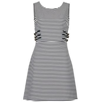 Υφασμάτινα Γυναίκα Κοντά Φορέματα Morgan RMARI MARINE / ECRU