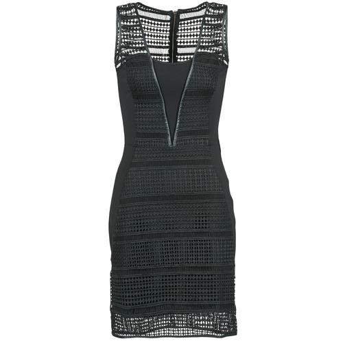 Υφασμάτινα Γυναίκα Κοντά Φορέματα Morgan RHONE Black