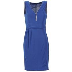 Υφασμάτινα Γυναίκα Κοντά Φορέματα Morgan ROPOM μπλέ