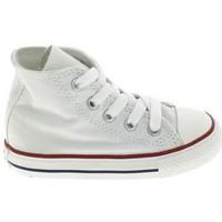 Παπούτσια Παιδί Σοσονάκια μωρού Converse All Star Hi BB Blanc Άσπρο