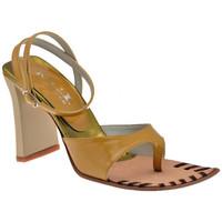 Παπούτσια Γυναίκα Σαγιονάρες Nci  Brown