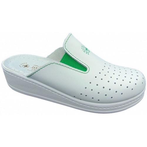 Παπούτσια Γυναίκα Σαμπό Sanital  Άσπρο