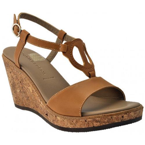 Παπούτσια Γυναίκα Σανδάλια / Πέδιλα Donna Serena  Brown