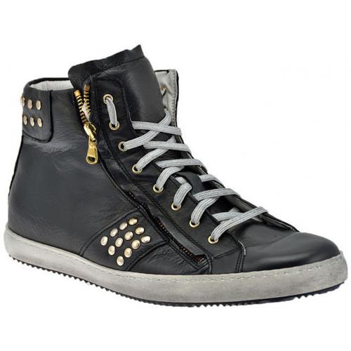 Παπούτσια Άνδρας Ψηλά Sneakers Exton  Black