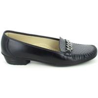 Παπούτσια Γυναίκα Μοκασσίνια Boissy Binome Noir Gris Black