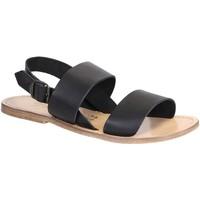 Παπούτσια Γυναίκα Σανδάλια / Πέδιλα Gianluca - L'artigiano Del Cuoio 500X U NERO LGT-CUOIO nero