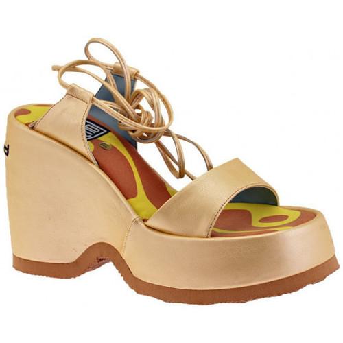 Παπούτσια Γυναίκα Σανδάλια / Πέδιλα No End  Gold